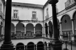University of Coimbra, established in 1290, one of the oldest universities in the world. UNESCO World Heritage. Site.Portugal stock photos