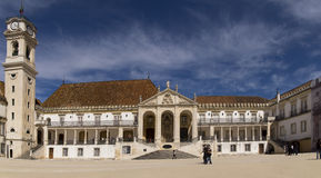 University of Coimbra Potugal Royalty Free Stock Photography