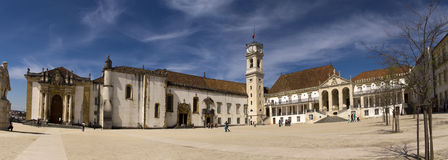 University of Coimbra Potugal Stock Photo