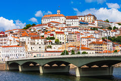 University of Coimbra Royalty Free Stock Photography