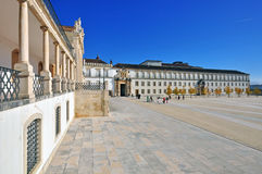 University of Coimbra town, Portugal Royalty Free Stock Images