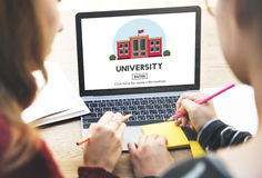 University College Academic Study Education Concept Stock Images