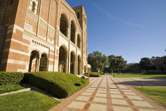 University College Campus. University campus at a Los angeles school. UCLA Royce Hall Stock Photography