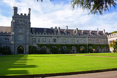 University College Cork Quad Royalty Free Stock Image