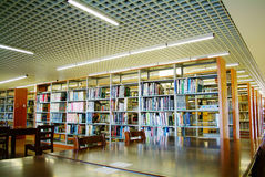 University College Library. Interior of university College Library royalty free stock images