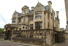 University College Oxford. View of famous Oxford University College Royalty Free Stock Photo