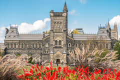 University College at University of Toronto Stock Images