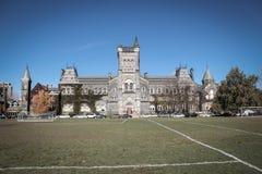 University College at University of Toronto, in Toronto Stock Photos