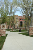 University of Colorado - Boulder. The University of Colorado in Boulder, Colorado. The university of Colorado offers undergraduate and graduate degrees taught by Royalty Free Stock Photo