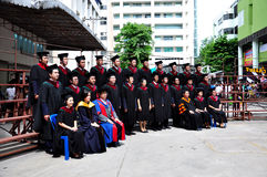 University Commencement. Commencement of of an Thailand University Stock Photography