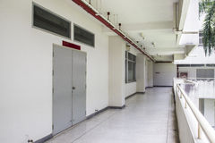 University corridor Stock Photos