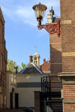 University courtyards in Amsterdam Royalty Free Stock Photography