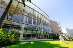 University Cultural Center Royalty Free Stock Photo