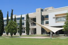 University of Cyprus administrative building royalty free stock images