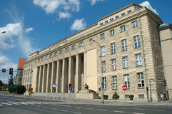 University of Economics in Poznan, Poland Stock Photo