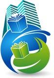 University education logo Royalty Free Stock Photos