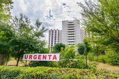 University Emergency Hospital from Bucharest,Romania. It was founded in 1978 as the Hospital of Bucharest (SCMB). In the period fr Royalty Free Stock Photos
