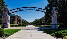 University Entrance Arch royalty free stock images