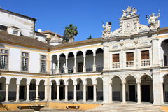 University of Evora. In Portugal royalty free stock photography