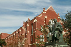 University of Florida Albert Murphree statue Royalty Free Stock Image