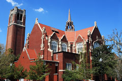 University of Florida Auditorium and Century tower Stock Image