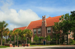University of Florida Dauer Hall stock images