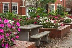 University of Florida Griffin-Floyd Hall Cortyard Stock Images