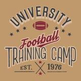 University football training camp Stock Images