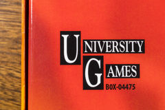 University Games Corporation Logo Stock Photography
