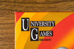 University Games Corporation Logo Royalty Free Stock Photo
