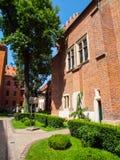 University garden in Krakow Stock Image