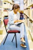 University girl studying Royalty Free Stock Photos