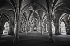 University of Glasgow Cloisters Royalty Free Stock Image