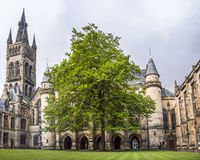 University of Glasgow inner courtyard Royalty Free Stock Photography