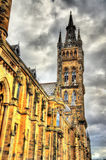 University of Glasgow Main Building Royalty Free Stock Images