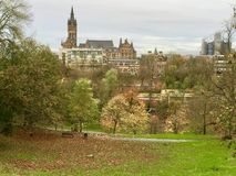 University of Glasgow, Scotland, UK royalty free stock photos