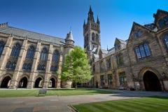 University of Glasgow West Quadrangle Royalty Free Stock Images