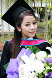 University graduate. Royalty Free Stock Photography