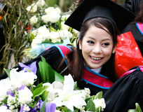 University graduate. Stock Photo