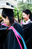 University graduates Royalty Free Stock Photo