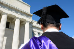 University graduation ceremony Royalty Free Stock Photos