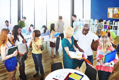 University Group People Communication Education Concept Royalty Free Stock Images