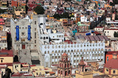 University of Guanajuato, Guanajuato, Mexico. UNESCO Historic Town of Guanajuato, Guanajuato, Mexico Stock Photos