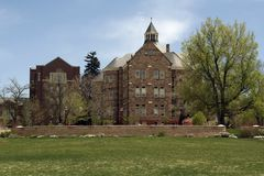 University Hall and Daniels College of Business Stock Images