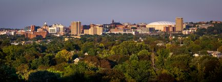 University Hill and Syracuse New York Royalty Free Stock Photography