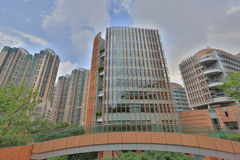 He University of Hong Kong in Pok Fu Lam Royalty Free Stock Photos