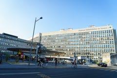 University Hospital of Geneva royalty free stock photo