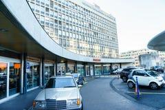 University Hospital of Geneva Stock Images