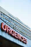 University Hospital of Geneva Royalty Free Stock Photos
