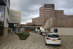 University of Huddersfield royalty free stock photo